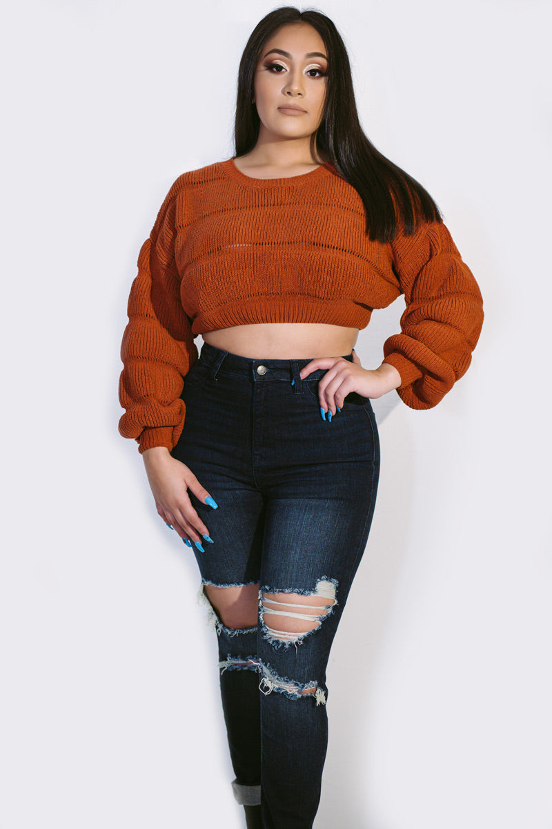 Eta Crop Sweater