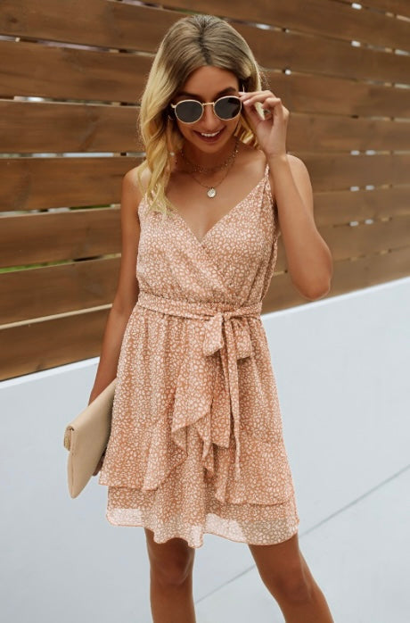 Jiselle Spaghetti Strap  Dress