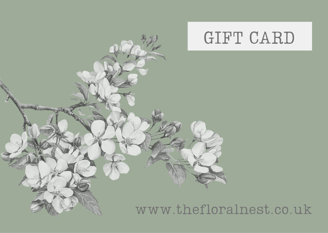 The Floral Nest - Gift Card