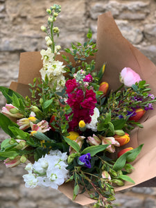 7/5/20 Mixed Spring Bouquet 100% British grown blooms