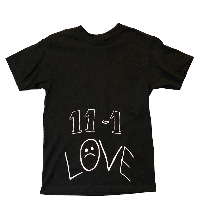 11-1 Reflective Ink Black Short Sleeve