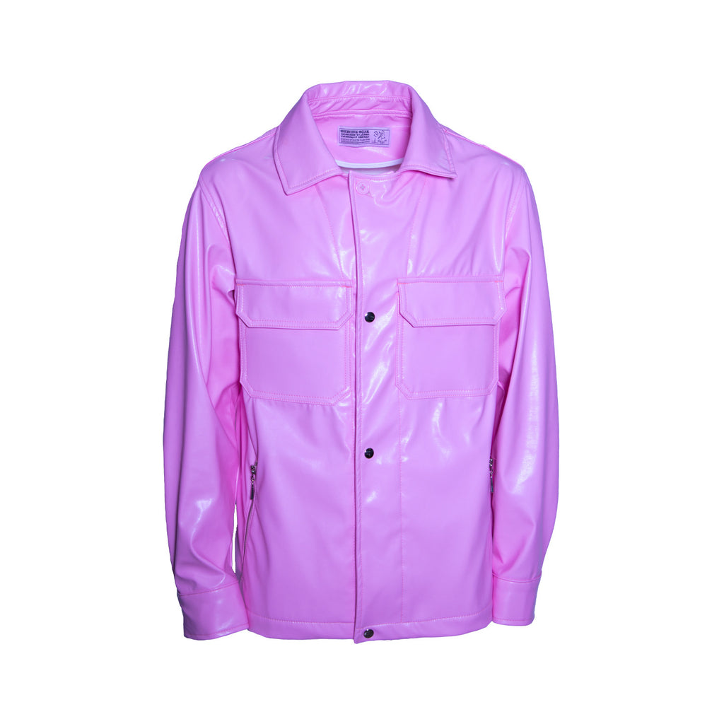 Work Jacket - Peep Pink