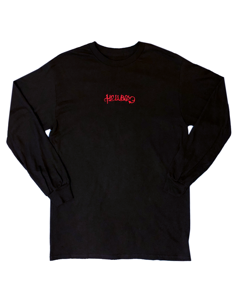 HELLBOY Embroidered Long Sleeve