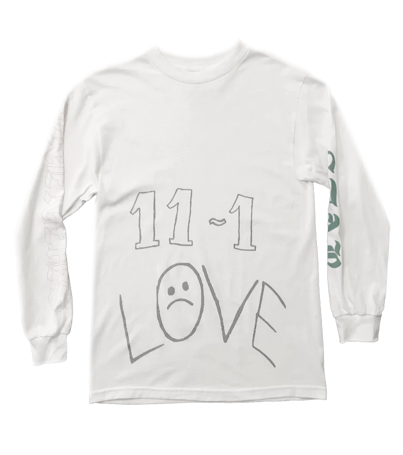 11-1 White Long Sleeve