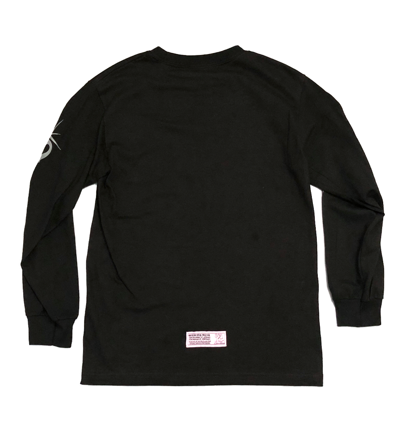 11-1 Reflective Ink Black Long Sleeve