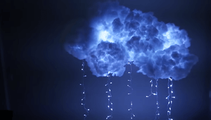 How To Make a Fluffy  Cost Effective Magical Cloud Light