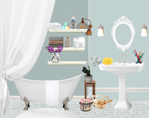 Bathroom accessories and bathroom gadget