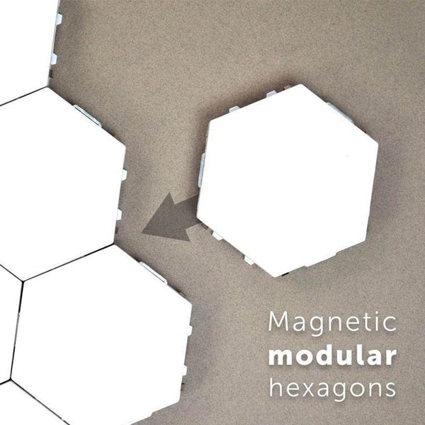 hexagonal led wall lights