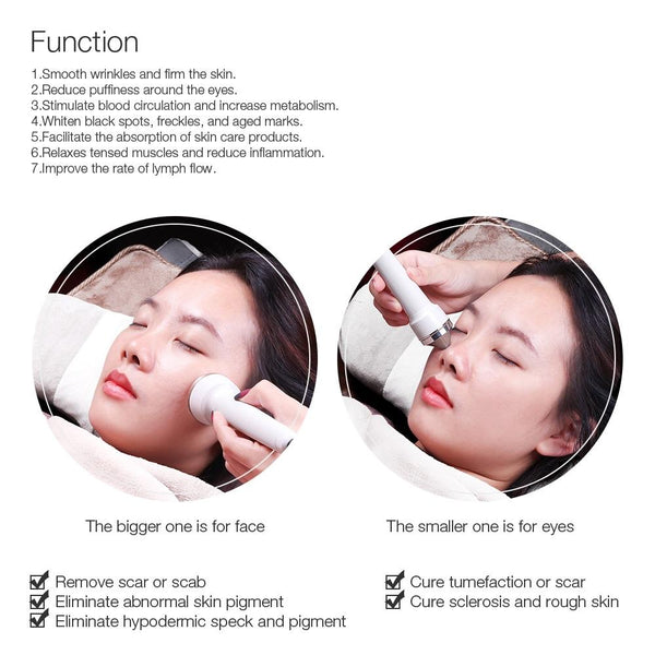 ultrasonic skin care and anti aging face massager machine