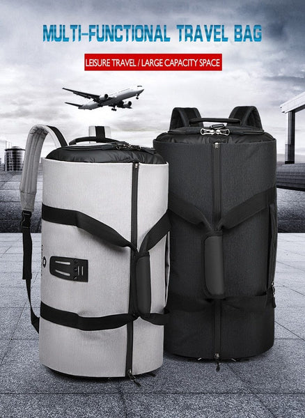travel bag with Trolley attachment belt