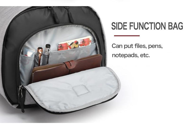 luggage bags with multi-layer storage space