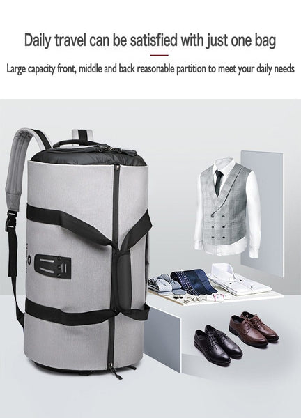 duffle bag that can be used as a backpack or carry on bag