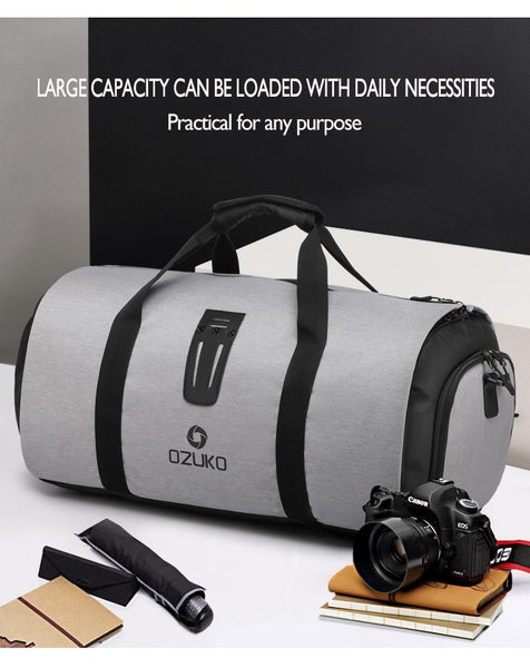 travel bags with large storage capacity
