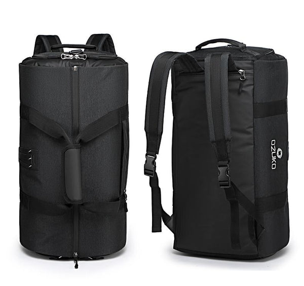travel bag with Trolley attachment belt for men and women