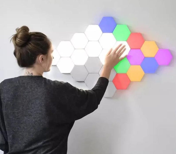 decorative color led wall lights