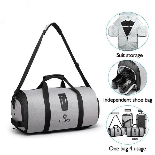 luggage bags with Shoe compartment bag