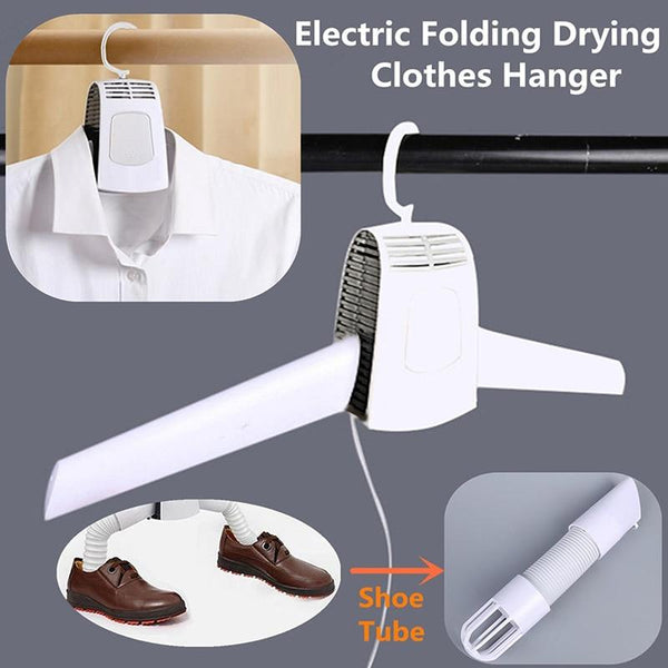 Portable Electric Clothes and Shoes Dryer