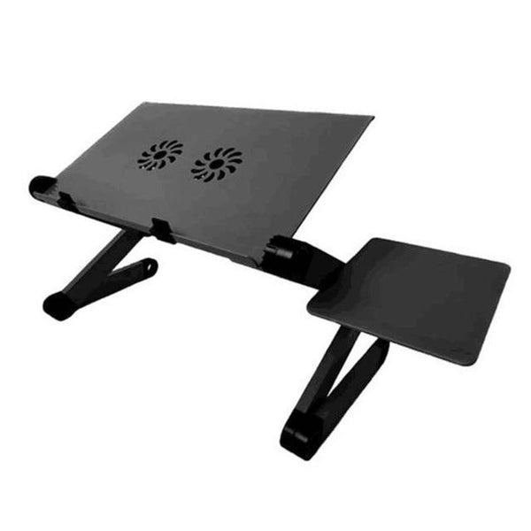 Adjustable Aluminum Laptop Bed Desk  With Mouse Pad | Laptop Table - day2daygadget