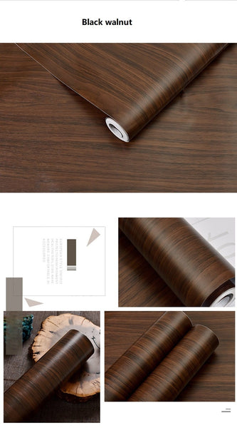 wood texture  self adhesive wallpaper