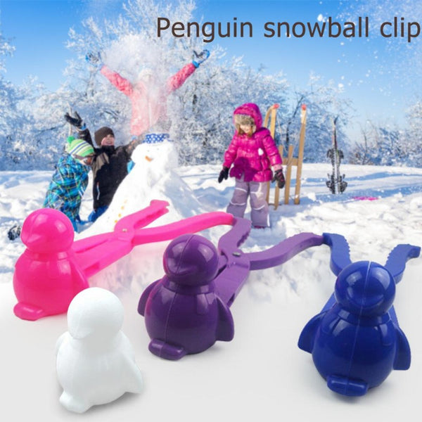 penguin ice maker, snowball maker