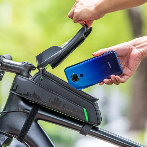 best waterproof bike bag, bike frame bag for phone