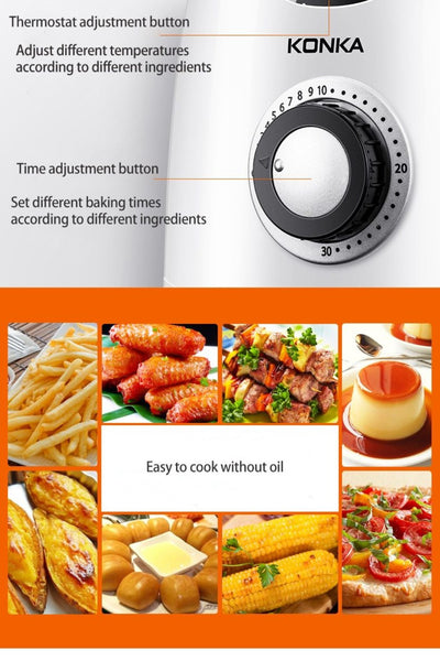 air fryer and pressure cooker