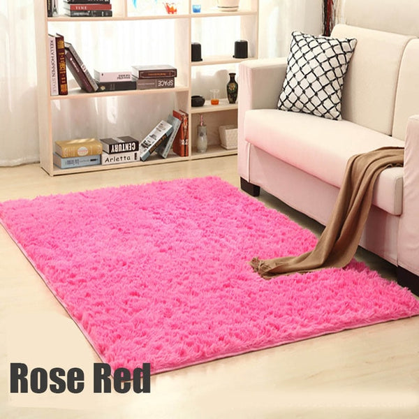 fluffy rugs for bedrooms