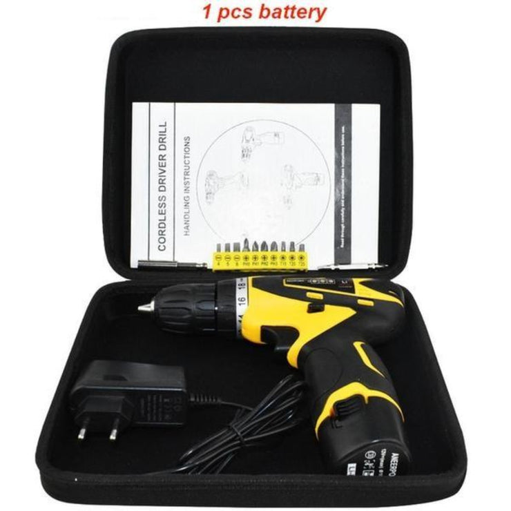 Cordless Power Tools Electric Screwdriver