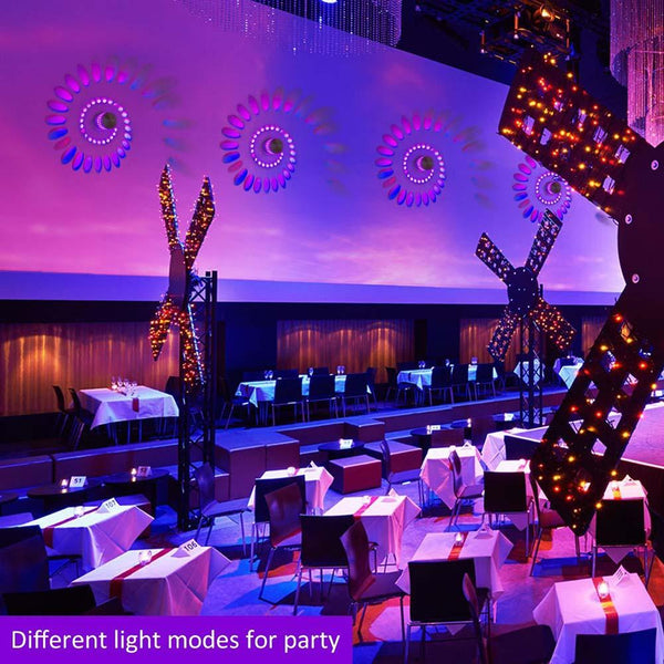decorative Spiral Led Ceiling Lights for room decoration