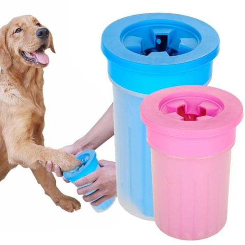 Pet Cats Dogs Foot Clean Cup For Dogs Cats Cleaning Tool Soft Plastic Washing Brush Paw Washer Pet Accessories for Dog, pet paw cleaner cup, pet paw cleaner, dog paw washer cup petware washing cleaning, pet paw cleaner for extra large dogs, small dogs,