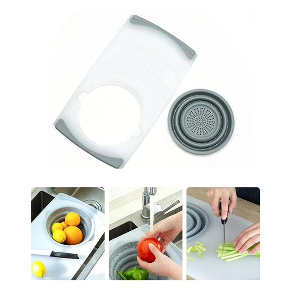 Multi-function Kitchen Chopping Blocks Sinks Drain Basket Cutting Board Vegetable Meat Tools Kitchen Accessories Chopping Board, chopping board Walmart, chopping board counter top, chopping board holder, chopping board oil, chopping board set, chopping, board plastic, chopping board dishwasher safe, chopping board with compartments, chopping board and knife, chopping board with strainer