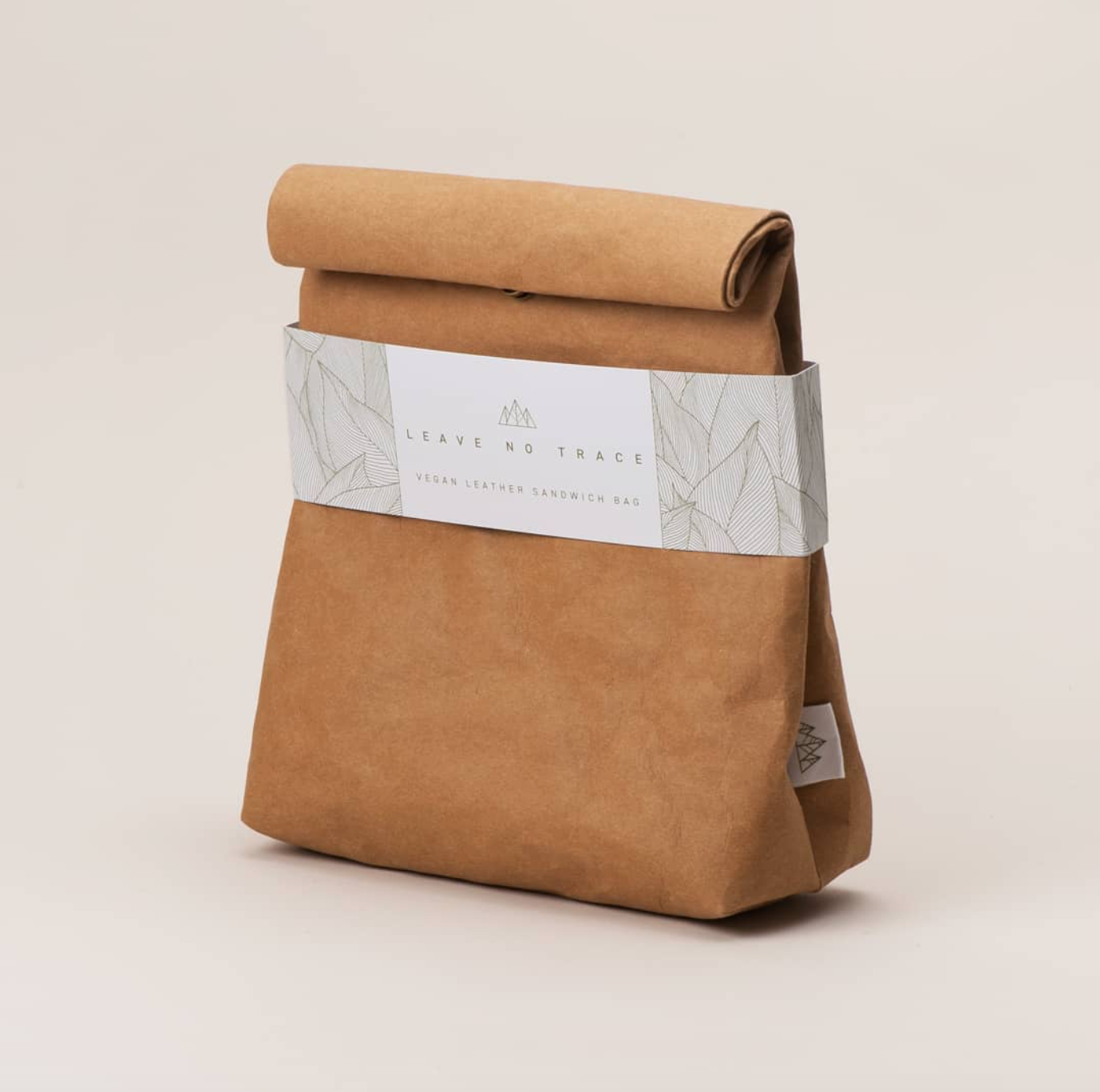 Leave No Trace fake leather lunch bag