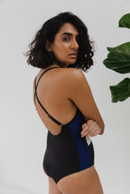Load image into Gallery viewer, The Lunar One Piece - Black/Navy