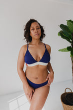 Load image into Gallery viewer, The Nerida Bikini Top - Navy