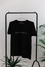 Load image into Gallery viewer, Young Wild + Plastic Free Tee Black