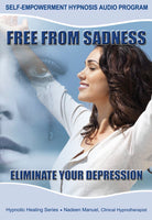 Freedom From Sadness - Letting Go Of Depression Self Hypnosis mp3 audio Hypnosis Session - Nadeen Manuel