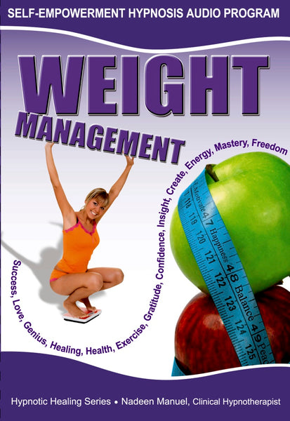 Weight Management Self Hypnosis mp3 audio Hypnosis Session - Nadeen Manuel