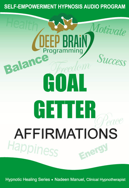 Goal Getter Affirmations with Binaural Beats FREE mp3 Download - Nadeen Manuel