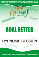 Goal Getter Self Hypnosis mp3 audio Hypnosis Session - Nadeen Manuel