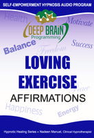 Loving Exercise Affirmations with Binaural Beats FREE mp3 Download - Nadeen Manuel