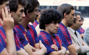 Classic Barcelona Football Shirts Through the Ages