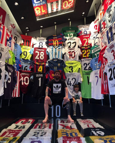Classic football shirt collection