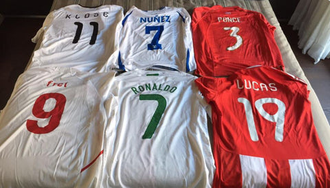 Vintage football shirt collections