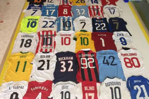 Classic football shirt collections