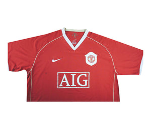 Manchester United 2006-07 Home Shirt (Excellent) XXL
