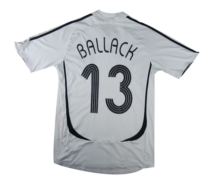 Germany 2005-07 Home Shirt Ballack #13 (Excellent) S