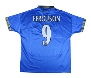 Everton 1997-99 Home Shirt Ferguson #9 (Excellent) XL