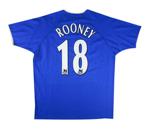 Everton 2003-04 Home Shirt Rooney #18 (Excellent) L