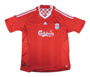 Liverpool 2008-10 Home Shirt (Very Good) L