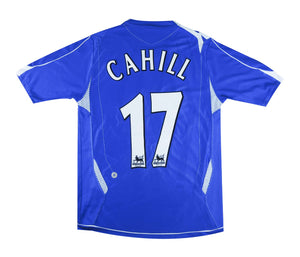 Everton 2006-07 Home Shirt Cahill #17 (Excellent) S